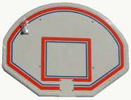 Basketball target board made from PE