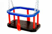 Commercial safety rubber Cradle swing seat